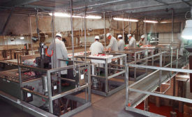 Fall Prevention Slip Resistant Flooring Food Processing Plant