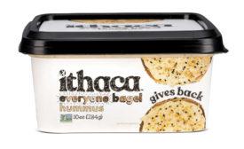 Everyone Bagel Hummus Common Threads Ithaca