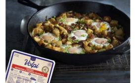 Pepperoni Chorizo Crumbles Skillet Volpi