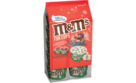 M&M's Green Red Minis Holiday Ice Cream Cups