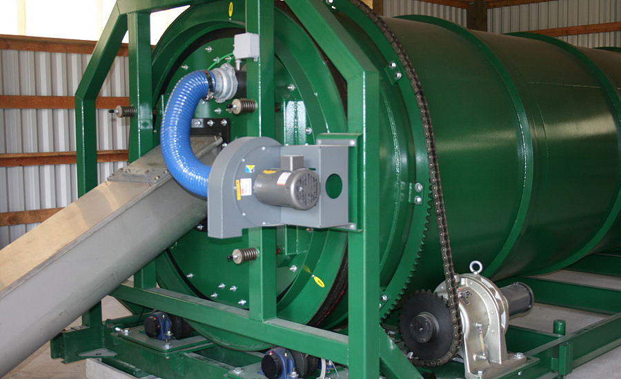 Vern Mont Farm Installs Compost Aeration Heat Recovery