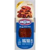 Advanta Kingsford baby back pork ribs