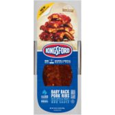 Advanta Kingsford baby back pork ribs