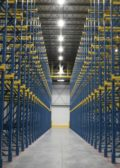 Manfredi Cold Storage Steel King rack system