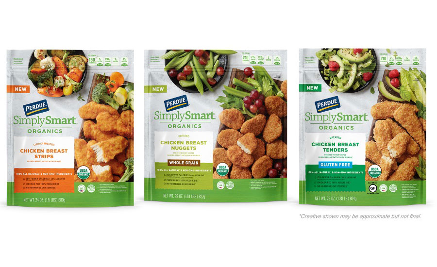 perdue develops certified organic fully cooked chicken products