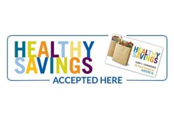 Healthy Savings CPG card