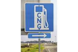 default CNG fuel