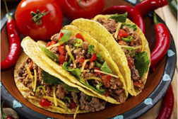 default Mexican foods