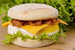 default breakfast sandwich