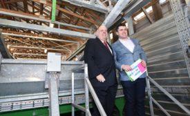 Double Trouble Farm waste to farm tech