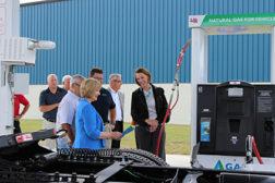 FTS Logistics CNG filling station