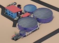 Carnes De Coclé wastewater treatment plant