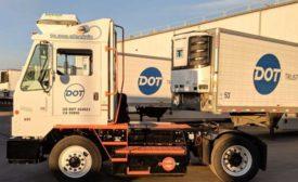 Dot Foods OrangeEV truck