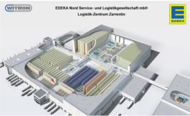 EDEKA Nord WITRON distribution center
