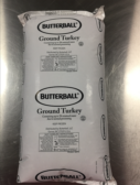Butterball Foodservice Ground Turkey Clipless Packaging