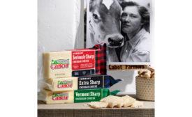 Cabot Creamery Centennial packaging