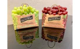 Dayka & Hackett Eco-Tote grape packaging