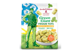Green Giant St. Jude packaging