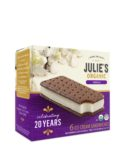 Julies Organic VanillaSandwich anniversary packaging