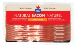 Maple Leaf Original Bacon packaging