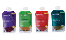 Nomva smoothie packaging