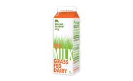 Rolling Meadow milk packaging