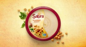 Sabra hummus packaging
