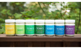 Toby's salad dressings refresh