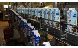 Valio milk cartons