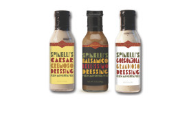 Spinelli's refrigerated dressing packaging