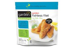 Gardein frozen fishless filets