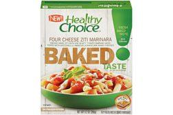 Healthy Choice baked ziti