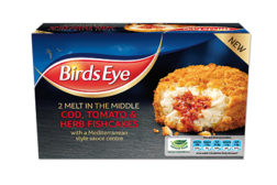 Birds Eye fish cakes