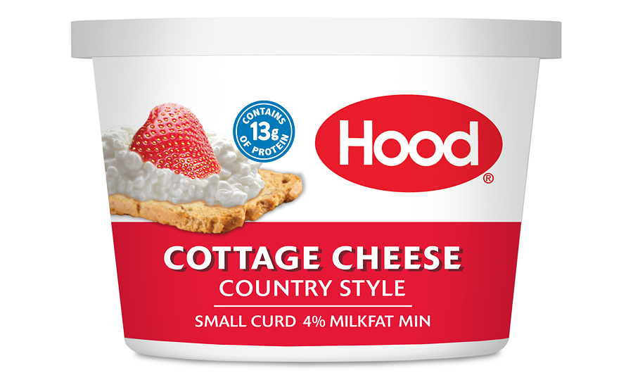 HP Hood Debuts New Cottage Cheese Packaging