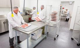 AdvancePierrre Foods meat lab