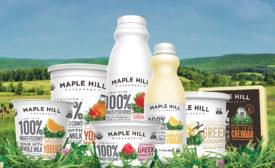 Maple Hill Creamery new pkg