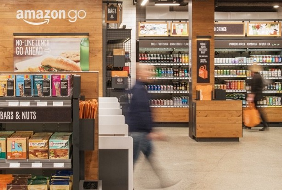 cbd424c30efc4b Customers simply use the Amazon Go app to enter the store, take the  products they want and go.