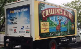 Challenge Dairy Products Refrigeration Truck