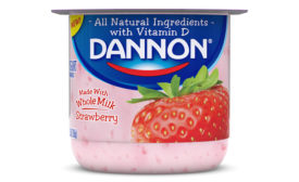 Dannon whole milk yogurt