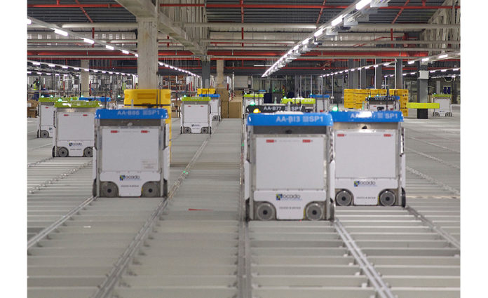 Kroger, Ocado to build nation's first high-tech customer