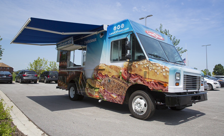 Land O Frost S New Food Truck Travels The Nation Serving
