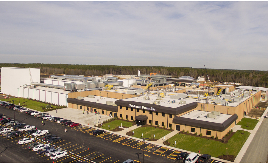 Sanderson Farms opens new deboning, wastewater treatment ...