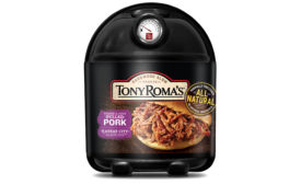 Tony Roma's pulled pork packaging