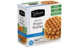 Julian's potato waffles