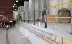 Rite-Hite guardrail