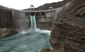 default water dam