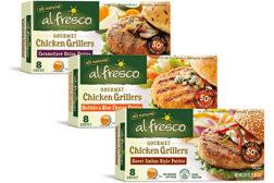 al fresco Gourmet Grillers patties