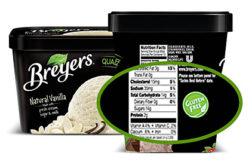 Breyers gluten-free ice cream