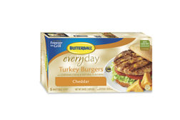 Butterball turkey cheddar burgers
