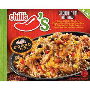 Chilis chicken fajita rice bowl